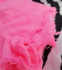 Magasderekú pink farmershort