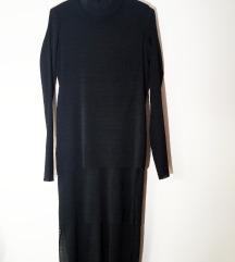 Egyedi hosszú plisszírozott rétegelt H&m ruha S