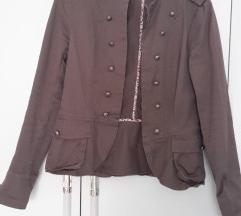 militari stilusú kabát, zakó