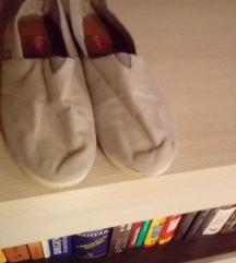 Szürke vászon cipő