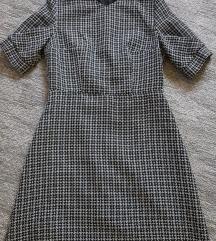Orsay fekete-fehér kockás ruha 36