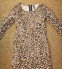 Párduc mintás H&M ruha