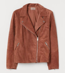 H&M prémium bőr plus size motoros dzseki