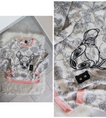 Disney Bambie mintás pizsama pulóver