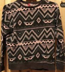 LEÁRAZVA Aztékmintás pulóver