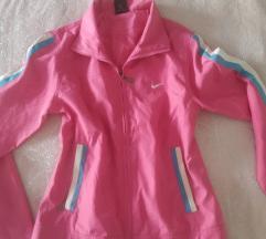 Nike rózsaszín vékony kabát S-M