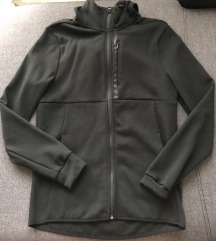 H&M fekete kapucnis sport pulóver