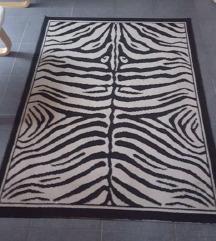 Zebra mintás nagy szőnyeg Akció %%