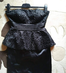 Új! Peplum ruha