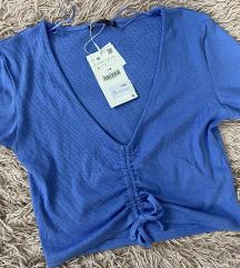 Kék crop top