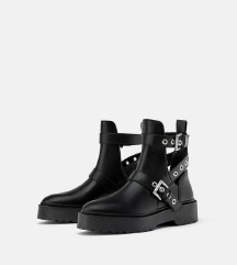 Zara cut out boots