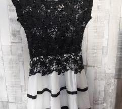 Fekete horgolt alkalmi ruha