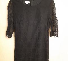 Fekete csipkés Monsoon ruha