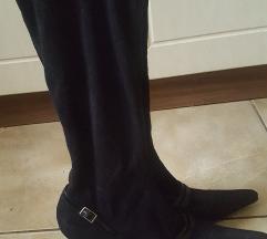 Velúr zokni csizma