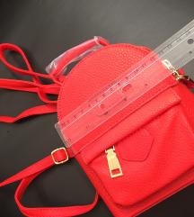 Piros hátizsák új