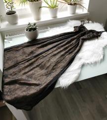 Gyönyörű csipke hosszú ruha S/M Új
