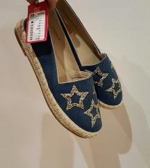 Csillagos espadrille cipő
