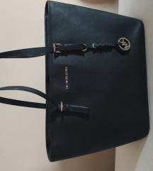Michael Kors táska Fekete ezüst fém részekk