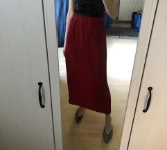 piros maxi szoknya
