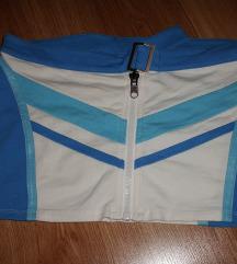 Replay kék-fehér szoknya M-es, 38-as