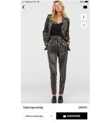 H&M nadrág kosztüm szett 34
