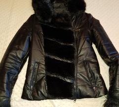 szőrme betétes kabát