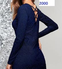 Új, csillogó bodycon ruha