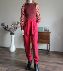 Piros magas derekú nadrág Envy