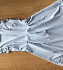 Világoskék ruha