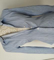 MNG Mango szűkített roll up blúz ing S