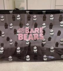 Medvetesók kozmetikai táska