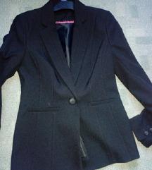 fekete csinos blézer kabát