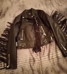 bershka S/36-os biker kabát