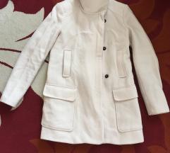 Zara fehér szövet kabát
