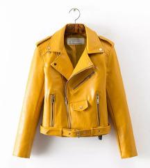 Divatos bőr jellegű dzseki eladó