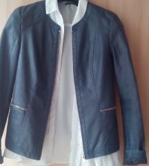 Orsay kék bőrkabát