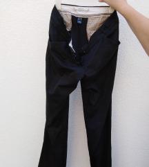 Mango fekete nadrág 38-as, M-es