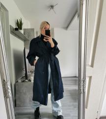 Vintage midi trench coat S/M 💙