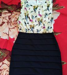 Virágos alkalmi ruha L méret (ár alkudható)