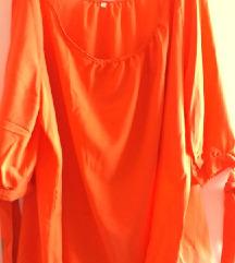 50-es női blúz, narancs, új