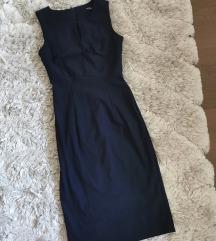 Orsay sötétkék business ruha XXS XS