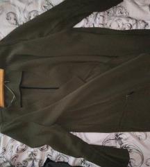 zöld átmeneti kabátka