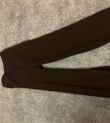 Zara szexi fekete alkalmi nadrág nyári