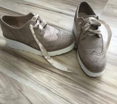 Bézs oxford cipő