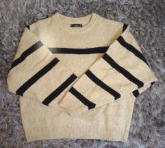 Mango nude/bézs rövid pulóver