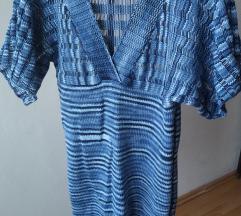 horgolt kék női egyberuha eladó