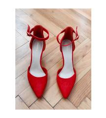 Terrakotta női magassarkú cipő