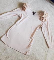 🎀 H&M rózsaszín csinos felső XS/S 🎀