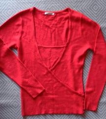 S, 36 - Piros George pulcsi, pulóver, felső