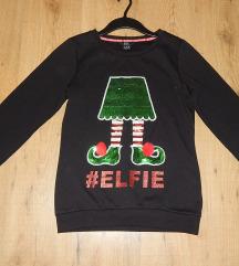 F&F flitteres karácsonyi pulóver 36-os és 34-es